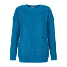 Buy Hobbs Maggie Jumper, Electric Blue Online at johnlewis.com