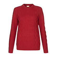 Buy NW3 by Hobbs Eleanor Jumper, Cherry Online at johnlewis.com