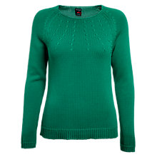 Buy Betty Barclay Chunky Knitted Jumper, New Spring Green Online at johnlewis.com