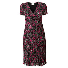 Buy East Geometric Dress, Berry Online at johnlewis.com