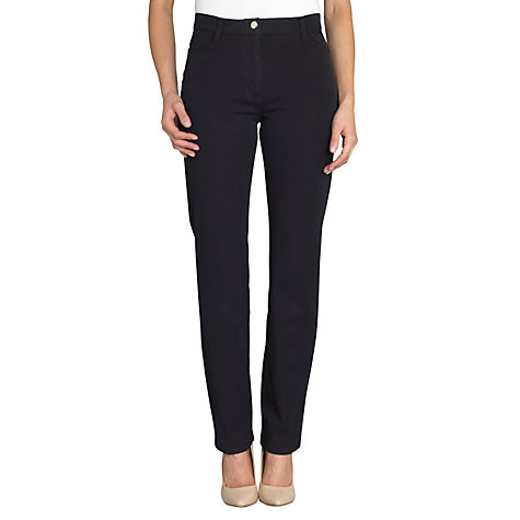 Buy Betty Barclay Bi-Stretch 5 Pocket Jeans, Night Blue Online at johnlewis.com