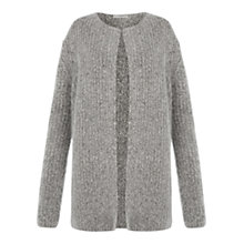 Buy Hobbs Caitlin Cardigan, Grey Multi Online at johnlewis.com