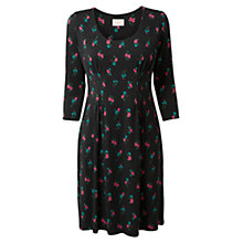 Buy East Hira Pushto Embroidered Dress, Black Online at johnlewis.com