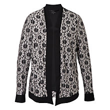 Buy Chesca Daisy Raglan Shrug Cardigan, Black Online at johnlewis.com