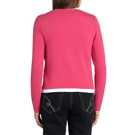 Buy Betty Barclay Biker Zip Front Cardigan Online at johnlewis.com