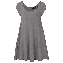 Buy French Connection Swing Flared Wool Dress, Medium Grey Melange Online at johnlewis.com