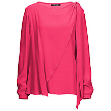 Buy Betty Barclay Long Sleeve Blouse Shoulder Tee, Raspberry Online at johnlewis.com