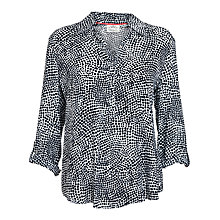 Buy Betty Barclay Multi Spot Blouse, White/Dark Blue Online at johnlewis.com