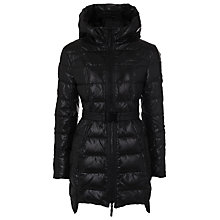 Buy French Connection Rien Hood Quilted Jacket Online at johnlewis.com