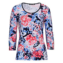 Buy Betty Barclay Floral T-Shirt, Varicoloured Online at johnlewis.com