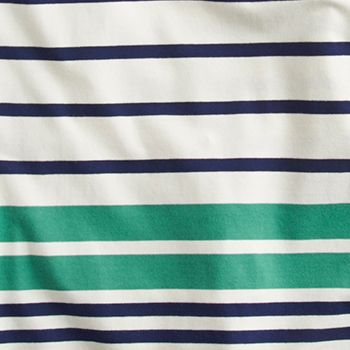 Skipper Green Stripe
