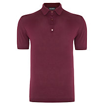 Buy John Smedley Adrian Sea Island Cotton Polo Shirt Online at johnlewis.com