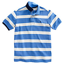 Buy Joules The Filbert Polo Shirt, Blue/Cream Online at johnlewis.com