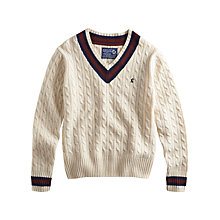 Buy Joules Harrington V-Neck Cricket Jumper Online at johnlewis.com