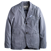 Buy Joules The Ambose Blazer, Navy Stripe Online at johnlewis.com