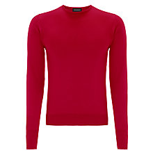 Buy John Smedley Marcus Merino Wool Jumper, Pimento Online at johnlewis.com