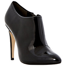 Buy Dune Anastacia Shoe Boots, Patent Black Online at johnlewis.com