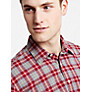 Buy Thomas Pink Nathan Check Shirt, Red/Grey Online at johnlewis.com