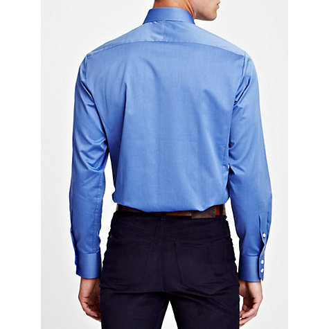 Buy Thomas Pink York Plain Shirt, Blue Online at johnlewis.com