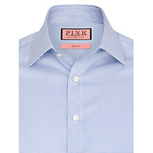 Buy Thomas Pink Kirckpatrick Check Shirt, Blue/White Online at johnlewis.com