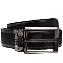 Buy Ted Baker Revell Reversible Leather Belt, Black/Brown Online at johnlewis.com