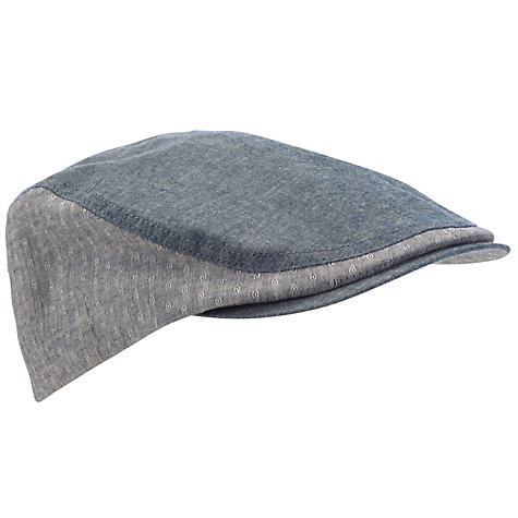 Buy Ted Baker Giffey Piping Flat Cap Online at johnlewis.com
