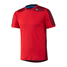 Buy Adidas CLTR Short Sleeve T-Shirt Online at johnlewis.com
