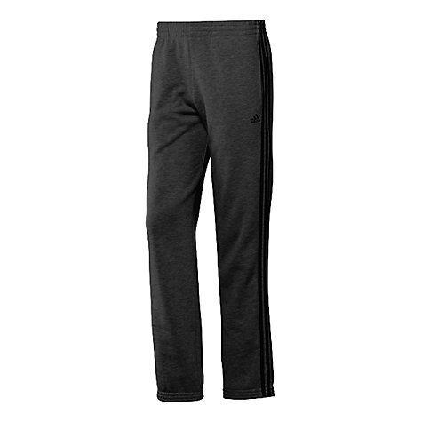 Buy Adidas Striped Sweat Pants, Dark Grey Online at johnlewis.com