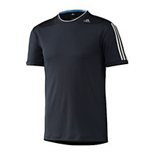 Buy Adidas CLTR Short Sleeve T-Shirt, Night Shade Online at johnlewis.com