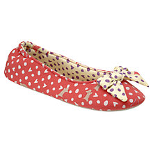 Buy Radley Hibbert Ballerina Slipper, Pink Online at johnlewis.com
