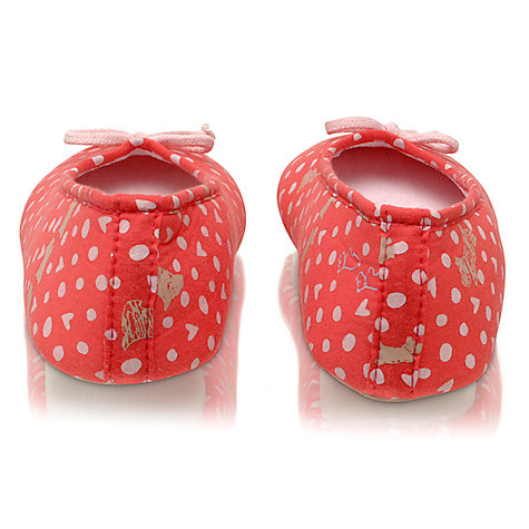 Buy Radley Hibbert Ballerina Slippers, Pink Online at johnlewis.com