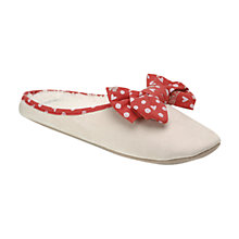 Buy Radley Hibbert Mule Slippers, Pink Online at johnlewis.com