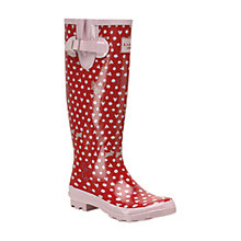 Buy Radley Hibbert Wellie Boots, Pink Online at johnlewis.com