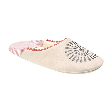 Buy Radley Finch Mule Slippers, Natural Online at johnlewis.com