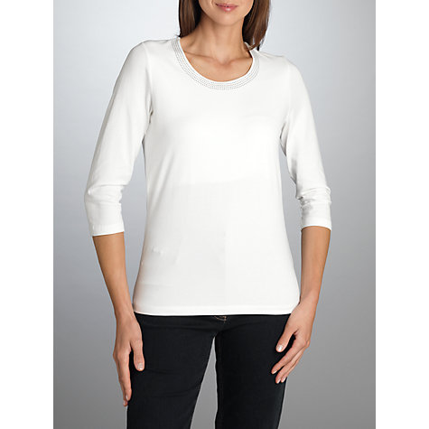 Buy Betty Barclay 3/4 Sleeve Stretch Stud Tee Online at johnlewis.com