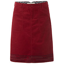 Buy White Stuff Sedgwick Skirt, Burnt Red Online at johnlewis.com