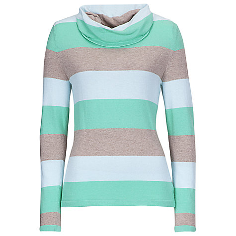 Buy Betty Barclay Jumper, Green/Beige Online at johnlewis.com