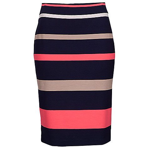 Buy Betty Barclay Bold Stripe Jersey Skirt, Multi Online at johnlewis.com