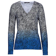 Buy Betty Barclay Spot Jumper, Dark Blue/Cream Online at johnlewis.com