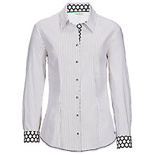Buy Betty Barclay Stripe Shirt, Nature/Black Online at johnlewis.com