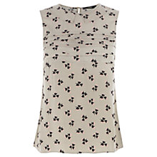Buy Oasis Geo Floral Shell Top, Multi Online at johnlewis.com