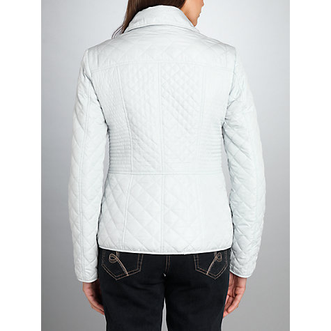Buy Betty Barclay Quilted Stitch Short Jacket, Ice Flow Online at johnlewis.com