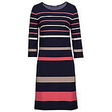 Buy Betty Barclay Bold Striped Jersey Dress, Multi Online at johnlewis.com