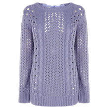Buy Oasis Pretty Stitch Jumper Online at johnlewis.com