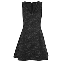 Buy Oasis Amelie Dress, Multi Black Online at johnlewis.com