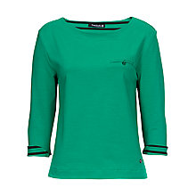 Buy Betty Barclay Stripe T-Shirt, New Spring Green Online at johnlewis.com