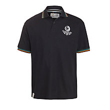 Buy Glasgow Commonwealth Games 2014 Men's Pique Polo Shirt, Navy Online at johnlewis.com