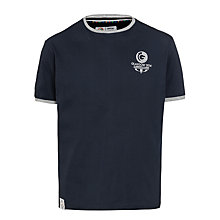Buy Glasgow 2014 Commonwealth Games Men's Crew Neck T-Shirt, Navy Online at johnlewis.com