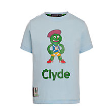 Buy Glasgow 2014 Commonwealth Games Junior Clyde Print T-Shirt Online at johnlewis.com