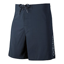 Buy Adidas Casual Swim Shorts, Navy Online at johnlewis.com